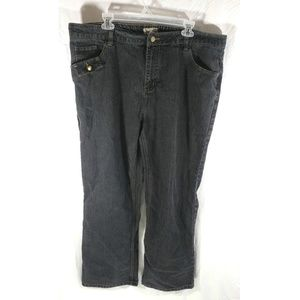 Gold Flava Women Wash Jeans Boot Cut Stretch Sz 22